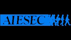 AIESEC logo blue